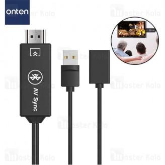 کابل و دانگل بلوتوث HDMI سه کاره ONTEN OTN-75003 HDTV Adapter 3 in 1