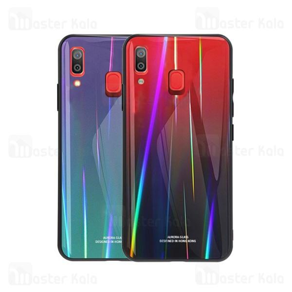 قاب لیزری رنگین کمانی سامسونگ Samsung Galaxy A20 / A30 Aurora Laser Case