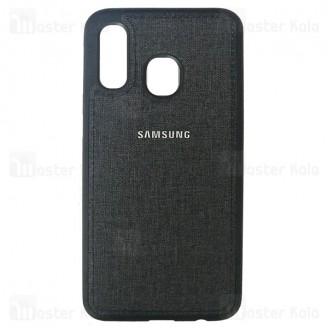 قاب طرح پارچه ای سامسونگ Samsung Galaxy A40 2019 / A405 Cloth Case