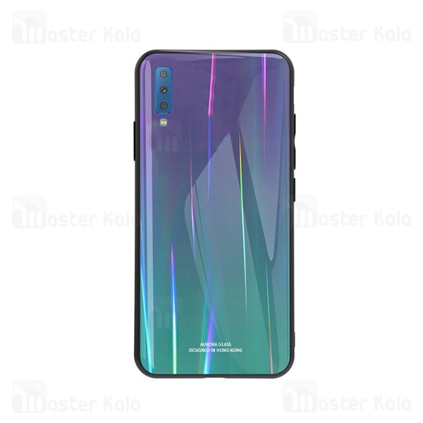 قاب لیزری رنگین کمانی سامسونگ Samsung Galaxy A7 2018 / A750 Aurora Laser Case
