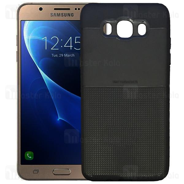 قاب ژله ای طرح چرم سامسونگ Samsung Galaxy J7 2016 / J710 AutoFocus Square Pattern