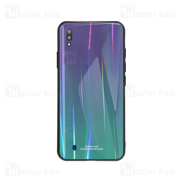 قاب لیزری رنگین کمانی سامسونگ Samsung Galaxy M10 Aurora Laser Case