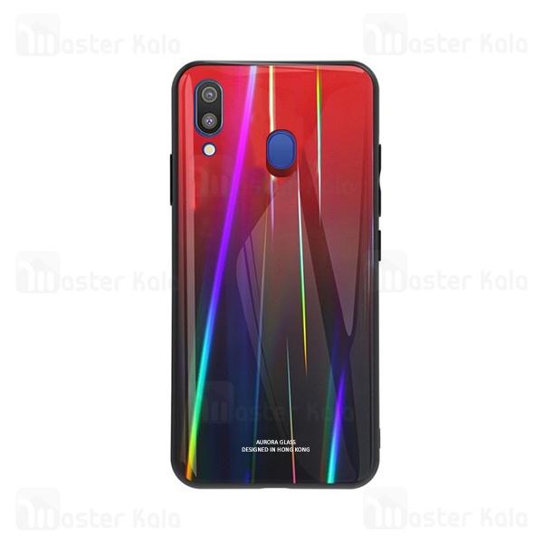 قاب لیزری رنگین کمانی سامسونگ Samsung Galaxy M20 Aurora Laser Case