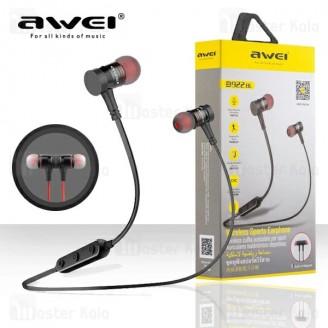 هندزفری بلوتوث اوی AWEI B922bl Wireless Earphone طراحی مگنتی