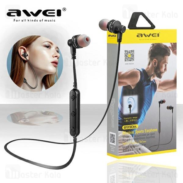 هندزفری بلوتوث اوی AWEI B990bl Wireless Earphone طراحی گردنی