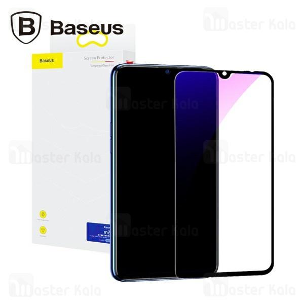 محافظ صفحه شیشه ای تمام صفحه و ضد اشعه بیسوس شیائومی Xiaomi Mi 9 Baseus SGMIM9-KB01