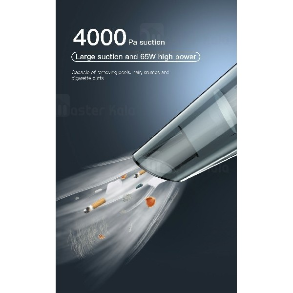 جارو برقی ماشین بیسوس Baseus shark one H-505 Car vacuum cleane ACH505-B01