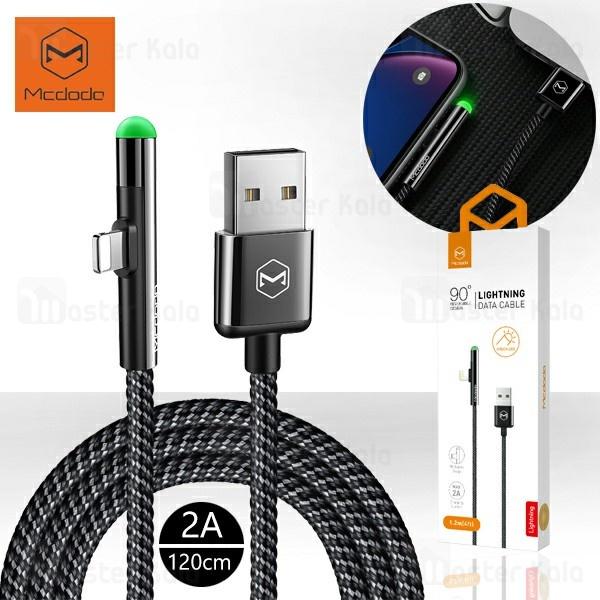 کابل لایتنینگ مک دودو Mcdodo CA-627 Data Cable توان 2 آمپر طول 1.2 متر