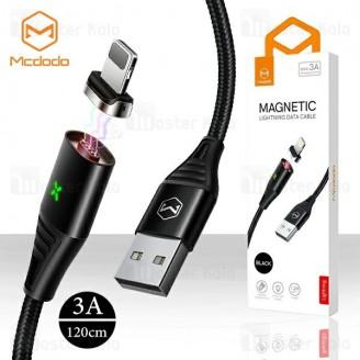 کابل لایتنینگ مک دودو Mcdodo CA-631 Data Cable توان 3 آمپر و طراحی مگنتی