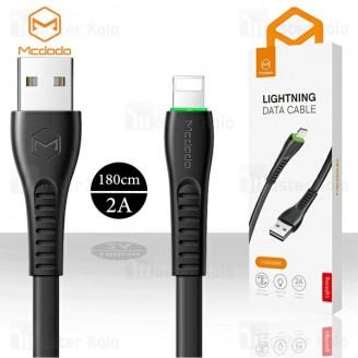 کابل لایتنینگ مک دودو Mcdodo CA-636 Data Cable توان 2 آمپر و طول 1.8 متر