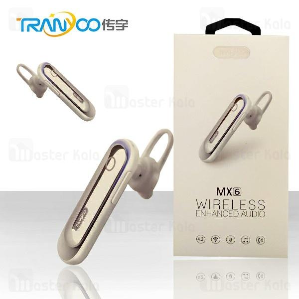 هندزفری بلوتوث تک گوش ترانیو Tranyoo MX6 Sport Bluetooth Headset