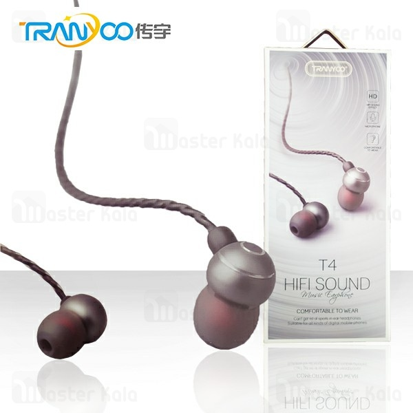 هندزفری سیمی Tranyoo T4 music Bass in-ear Earphone