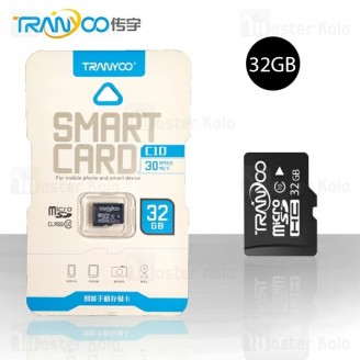 کارت حافظه میکرو اس دی 32 گیگابایت ترانیو Tranyoo C10 Class 10 32GB