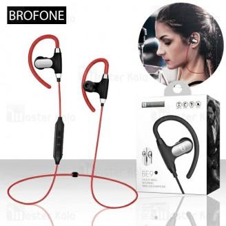 هندزفری بلوتوث بروفون Borofone BE9 Sport Ear Hook Headset طراحی گردنی
