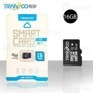کارت حافظه میکرو اس دی 16 گیگابایت ترانیو Tranyoo C10 Class 10 16GB