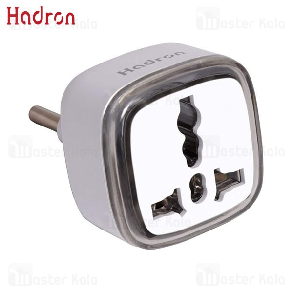 مبدل برق و محافظ هادرون Hadron HTH-A10 Economy Surge Protector And Adaptor - نسخه اقتصادی