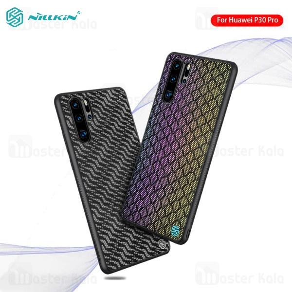 قاب فیبرکربنی شب نما نیلکین هواوی Huawei P30 Pro Nillkin Twinkle cover