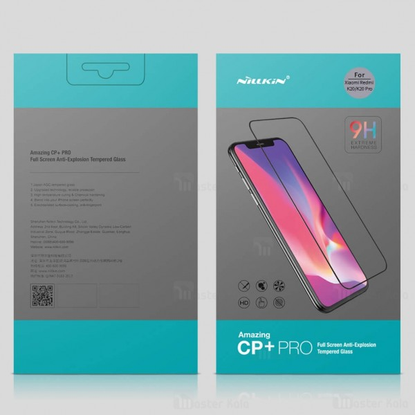 محافظ صفحه شیشه ای تمام صفحه تمام چسب Xiaomi Redmi K20 / K20 Pro / Mi9T / Mi9T Pro Nillkin CP+ Pro