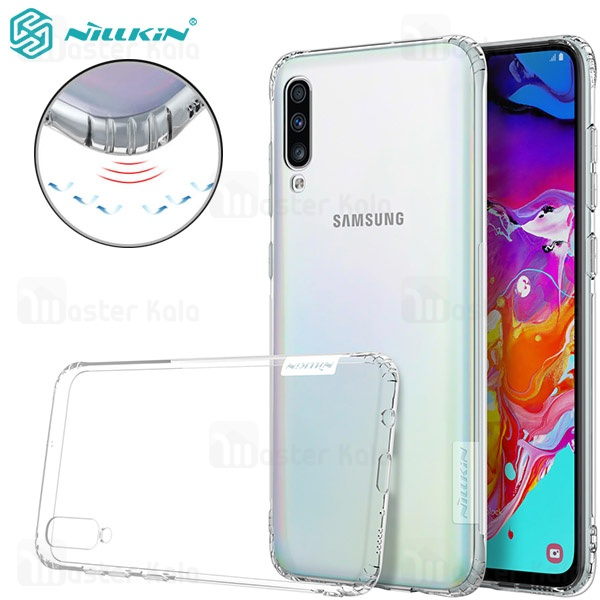 قاب ژله ای نیلکین سامسونگ Samsung Galaxy A70 Nillkin Nature TPU