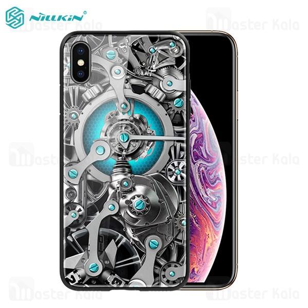 قاب محافظ نیلکین آیفون Apple iPhone X / XS Nillkin Spacetime با طرح سه بعدی