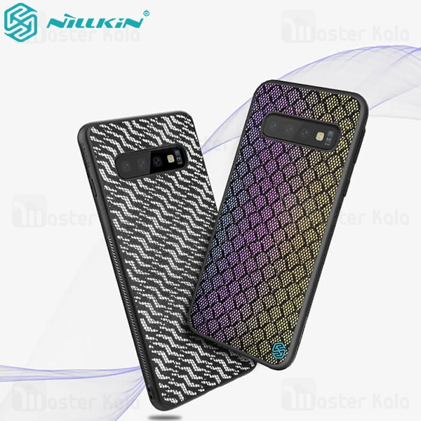 قاب فیبرکربنی شب نما نیلکین سامسونگ Samsung Galaxy S10 Plus Nillkin Twinkle