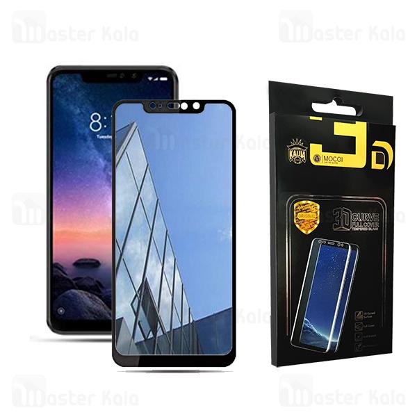 محافظ صفحه شیشه ای تمام صفحه تمام چسب آینه ای شیائومی Xiaomi Mi 8 / Mi8 Mocol 6D