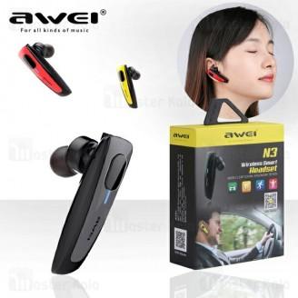 هندزفری بلوتوث تک گوش اوی Awei N3 Smart Bluetooth Headset