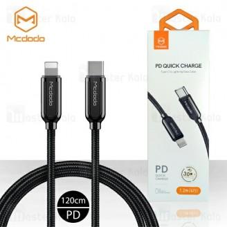 کابل شارژ تایپ سی به لایتنینگ مک دودو Mcdodo CA-687 PD Quick Cable طول 1.2 متر