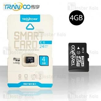 کارت حافظه میکرو اس دی 4 گیگابایت ترانیو Tranyoo C6 Class 6 4GB