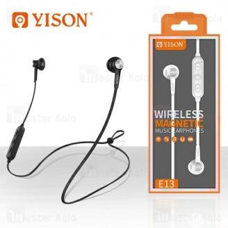 هندزفری بلوتوث وایسون Yison E13 Wireless Magnetic Earphone طراحی مگنتی