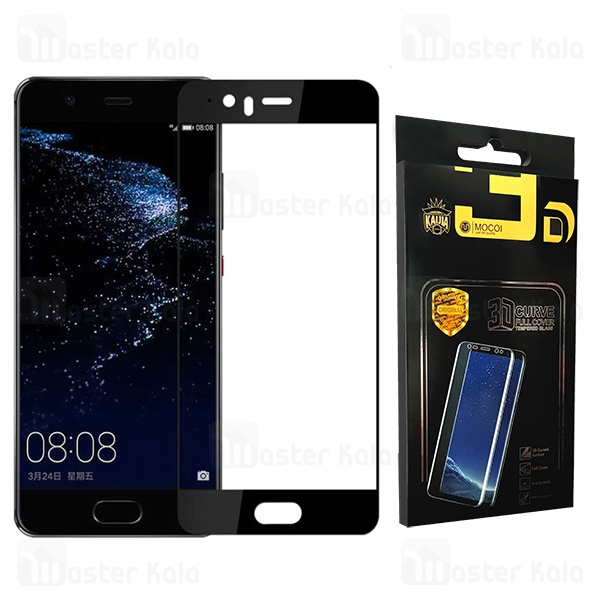 محافظ صفحه شیشه ای تمام صفحه تمام چسب هواوی Huawei P10 Lite Mocol Glass