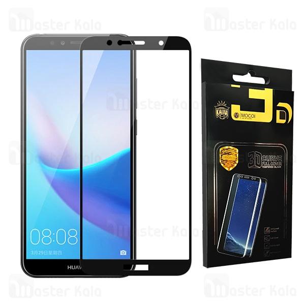 محافظ صفحه شیشه ای تمام صفحه تمام چسب هواوی Huawei Y6 2018 / Y6 Prime 2018 / Honor 7A Mocol Glass
