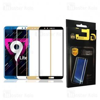 محافظ صفحه شیشه ای تمام صفحه تمام چسب هواوی Huawei Honor 9 Lite Mocol Glass