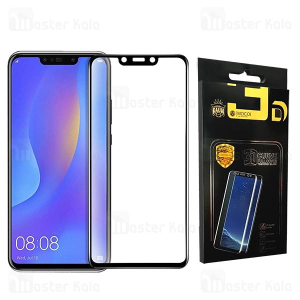 محافظ صفحه شیشه ای تمام صفحه تمام چسب هواوی Huawei Nova 3 / Nova 3i / P Smart Plus Mocol Glass