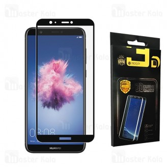 محافظ صفحه شیشه ای تمام صفحه تمام چسب هواوی Huawei P Smart / Enjoy 7s Mocol Glass