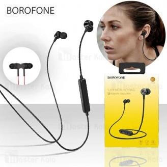 هندزفری بلوتوث بروفون Borofone BE18 Wireless Magnetic Earphone طراحی مگنتی