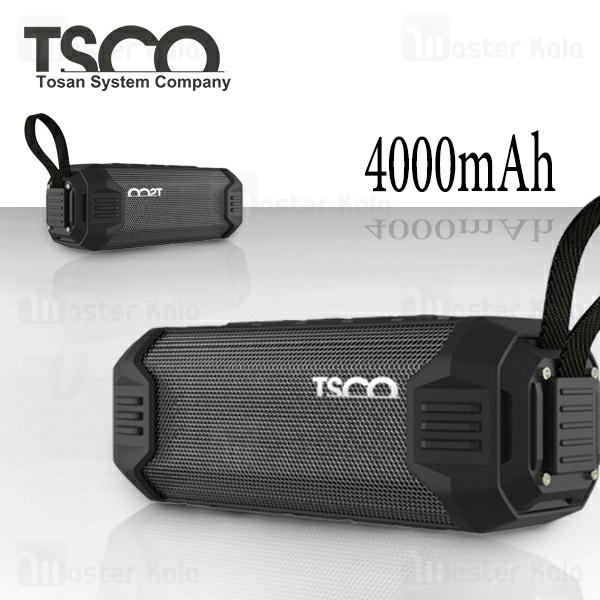 اسپیکر بلوتوث تسکو Tsco TS 2398 Bluetooth Speaker رم و فلش خور مجهز به پاوربانک