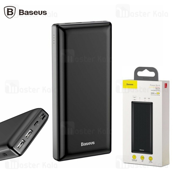 پاوربانک 30000 میلی آمپر بیسوس Baseus Mini JA X30 30000mAh PPJAN-C01 PD سه پورت