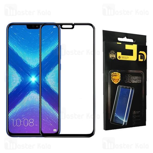 محافظ صفحه شیشه ای تمام صفحه تمام چسب هواوی Huawei Honor 8X Mocol Glass