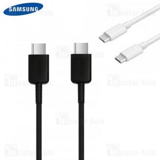کابل دو سر تایپ سی اورجینال سامسونگ Samsung EP-DG977BBE Type-C To Type-C Cable