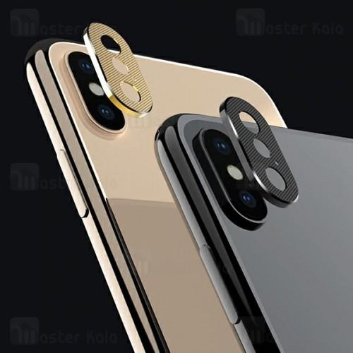 محافظ لنز فلزی دوربین موبایل اپل Apple iPhone XS Max Alloy Lens Cap