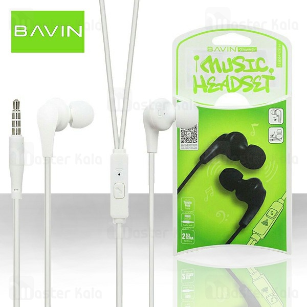 هندزفری سیمی باوین Bavin HX817 Stereo Earbuds Headphone