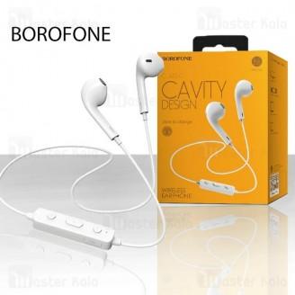 هندزفری بلوتوث بروفون Borofone BE22 Cavity Wireless Earphone طرح ایرپاد