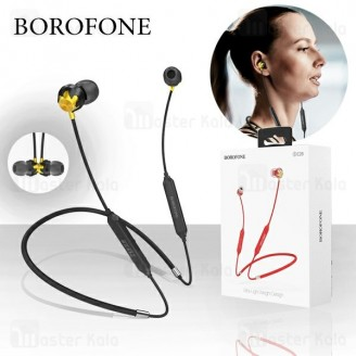 هندزفری بلوتوث بروفون Borofone BE26 Wireless Magnetic Earphone طراحی مگنتی