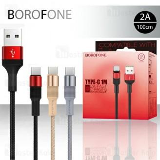 کابل Type C بروفون Borofone BX2 Cable توان 2 آمپر و طول 1 متر