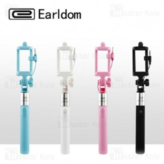 مونوپاد شاتر دار ارلدام Earldom ET-ZP05 Mini Selfie Stick طراحی مینی