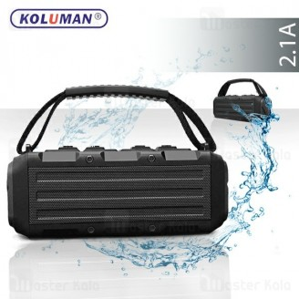 اسپیکر بلوتوث کلومن Koluman K-S20 Waterproof IPX7 Wireless Speaker ضد آب