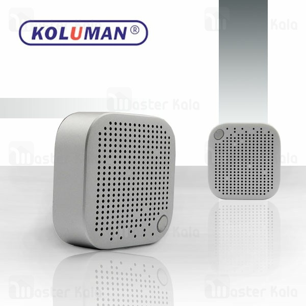اسپیکر بلوتوث کلومن Koluman K-S30 Wireless Speaker طراحی مینی