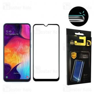 محافظ صفحه شیشه ای تمام صفحه تمام چسب سامسونگ Samsung Galaxy M10 Mocol 6D Glass