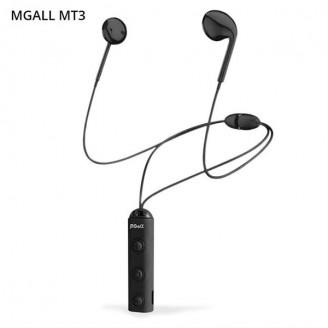 هندزفری بلوتوث گردنی طرح Earpod مگال mgall Mt3 Bluetooth headset